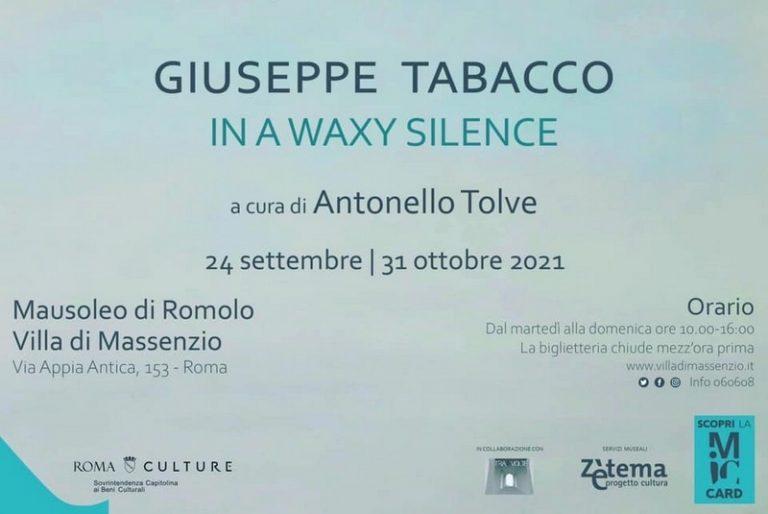 In A Waxy Silence di Antonello Tolve