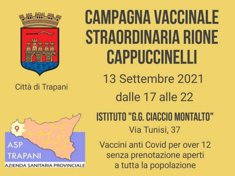 Campagna vaccinale straordinaria il 13 e 14 Settembre a Cappuccinelli e Fontanelle