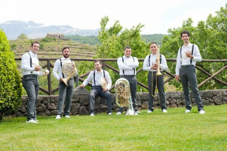 """Lo swing dell'Evolution Brass per """"Echi in Grotta"""""""