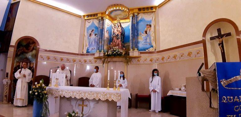 Madonna delle Grazie, l'Ottavario alla fase conclusiva