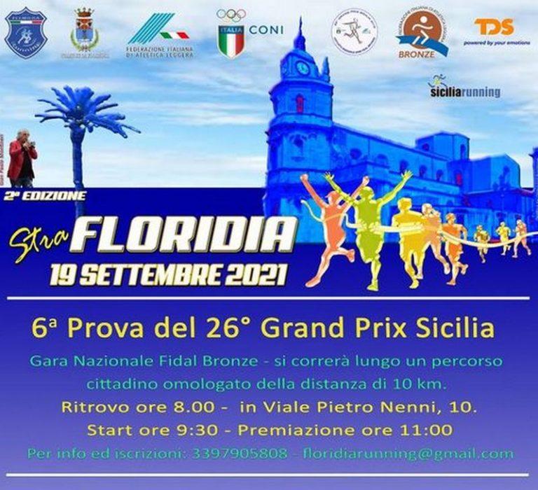 StraFloridia 2021: 285 gli atleti in gara. Domenica lo start