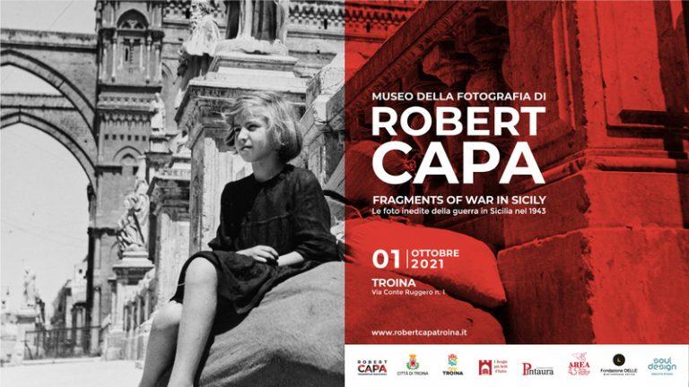 La Storia attraverso le fotografie di Robert Capa. A Troina l'inaugurazione di una mostra permanente