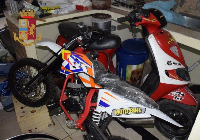 La Polizia di Stato scopre allo Zen garage pieno di refurtiva