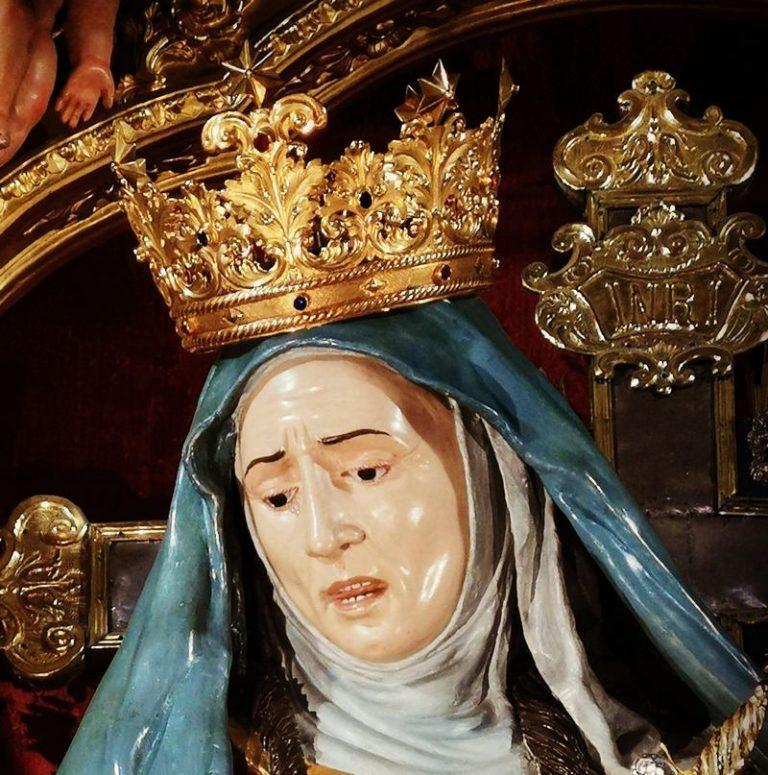 Maria Santissima Addolorata con il suono delle campane i festeggiamenti