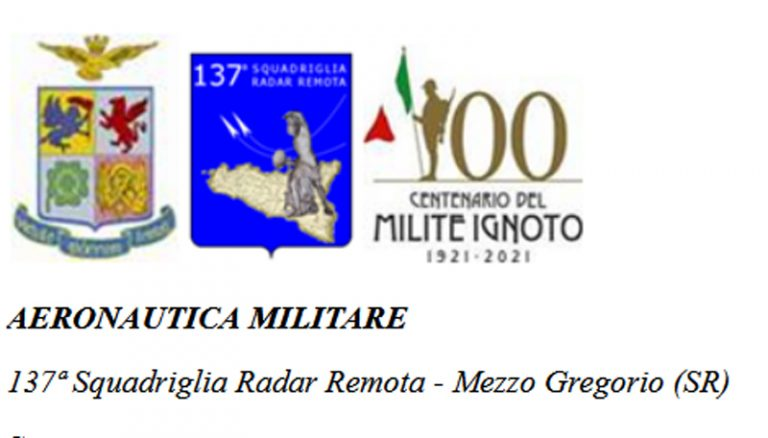 """Cambio di Comando alla 137ª Squadriglia Radar Remota """"Francesco Maiore"""" dell'Aeronautica Militare"""
