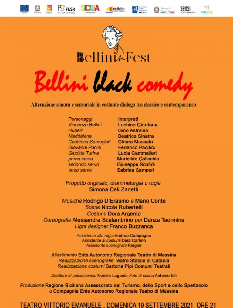 Bellini Black Comedy al Teatro Vittorio Emanuele