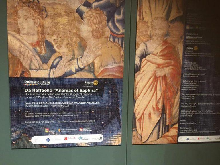 Palermo partecipa all'anno raffaellesco