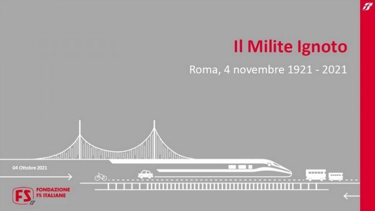 Centenario del trasferimento della salma del Milite Ignoto da Aquileia a Roma (1921- 2021)