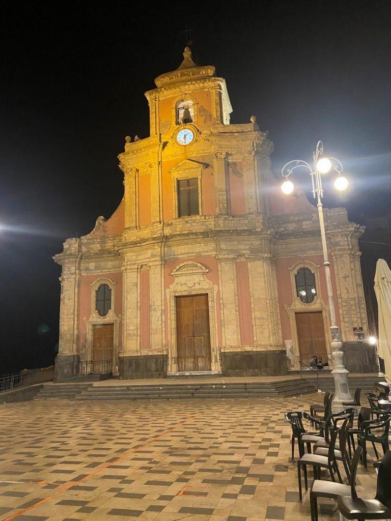 Inizio lavori di restauro dei prospetti esterni del Duomo (Chiesa  Immacolata Concezione) e della Chiesa SS. Sacramento