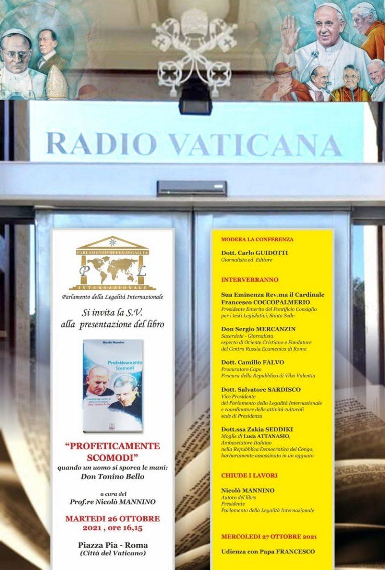 Il libro di Nicolò Mannino sbarca a Radio Vaticana, è già un successo