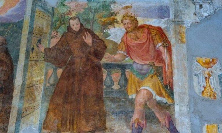 Caserma Ruggero Settimo ex convento di S. Francesco di Paola: dagli affreschi secenteschi alla storia militare contemporanea