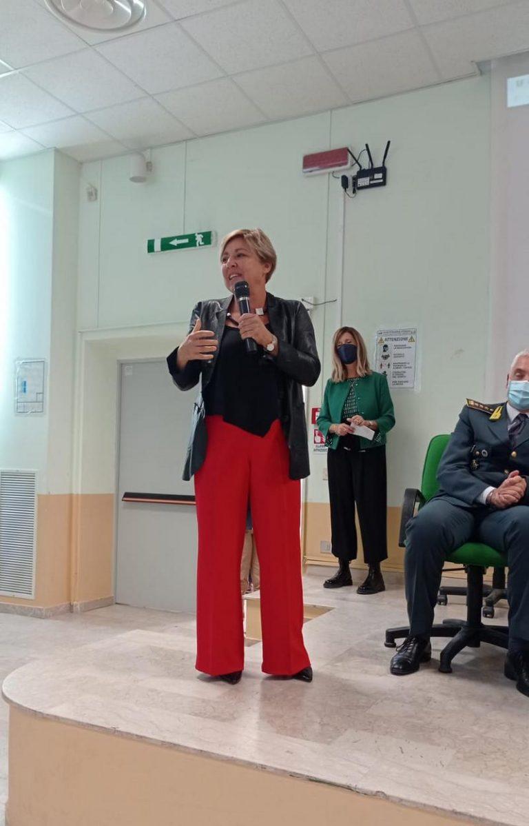 """Fiammetta Borsellino al liceo scientifico di Ragusa. Firrincieli: """"Un incontro di alto profilo. Di grande spessore le sue riflessioni"""""""