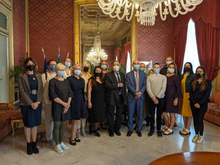 Imprenditori lituani in visita a Palermo