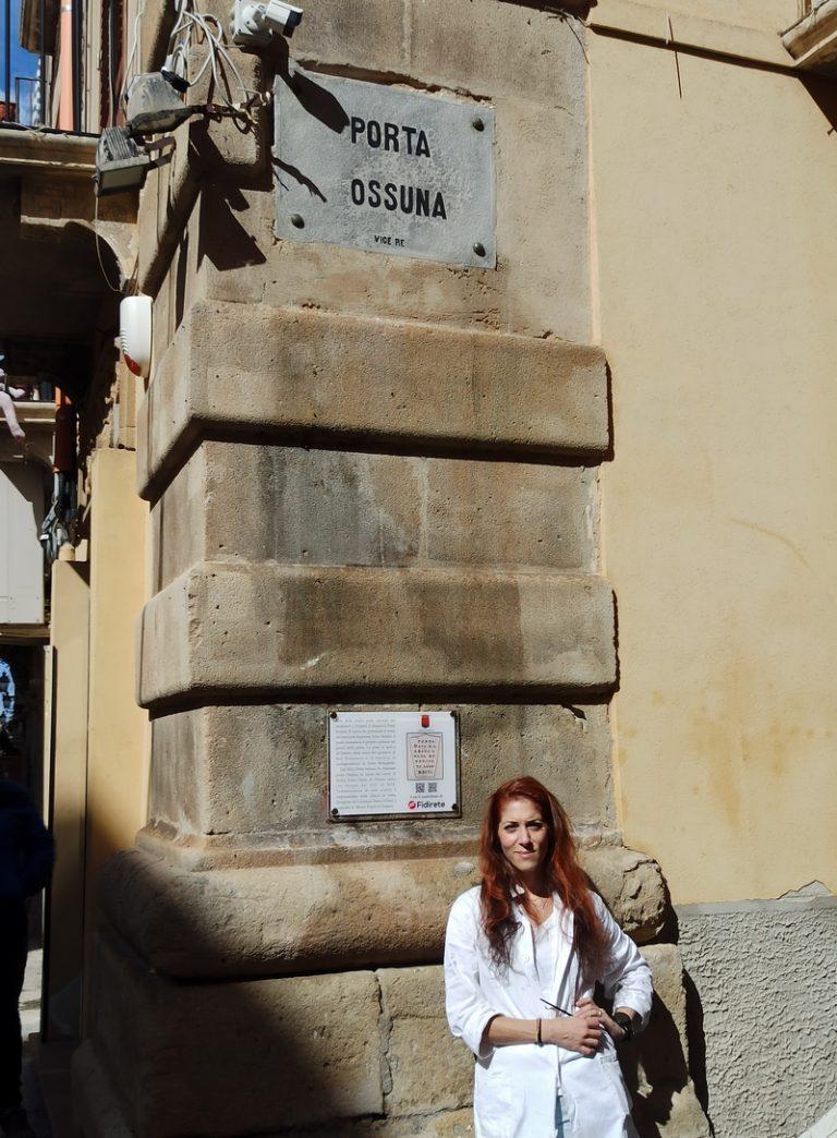 Ripristinata targa a Porta Ossuna