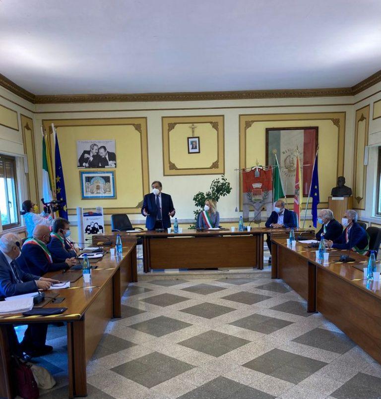 """Viabilità SP2 """"Di Fellamonica"""" e SP 18 """"Di Ponte Murana"""". Consegnati oggi i lavori"""
