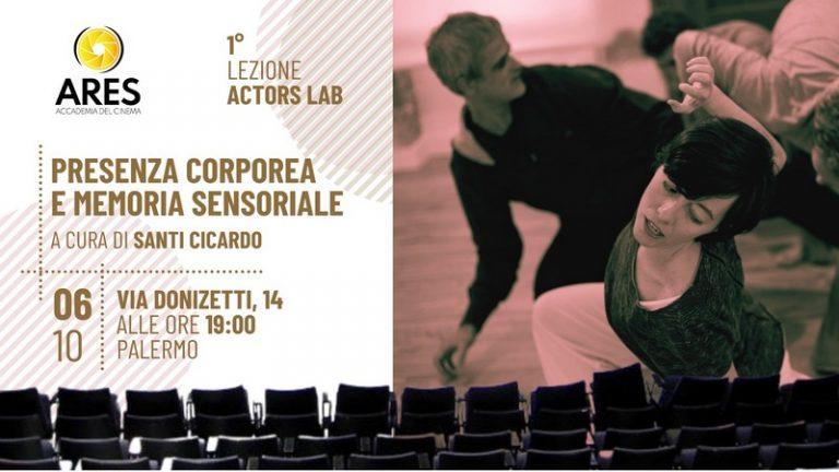 Accademia del Cinema Ares: open day gratuito con Santi Cicardo e il metodo Strasberg