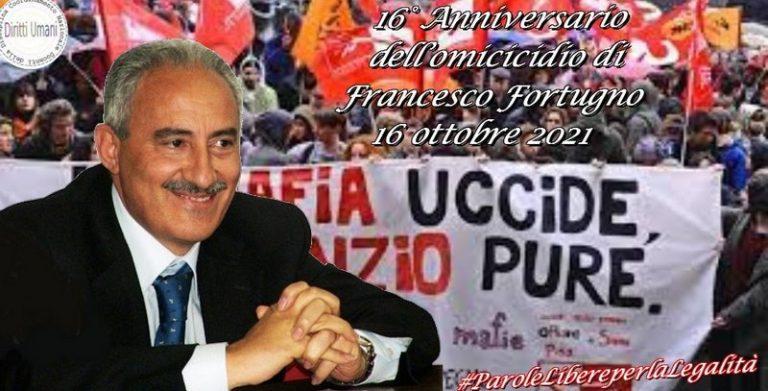 16° anniversario dell'omicidio di Francesco Fortugno