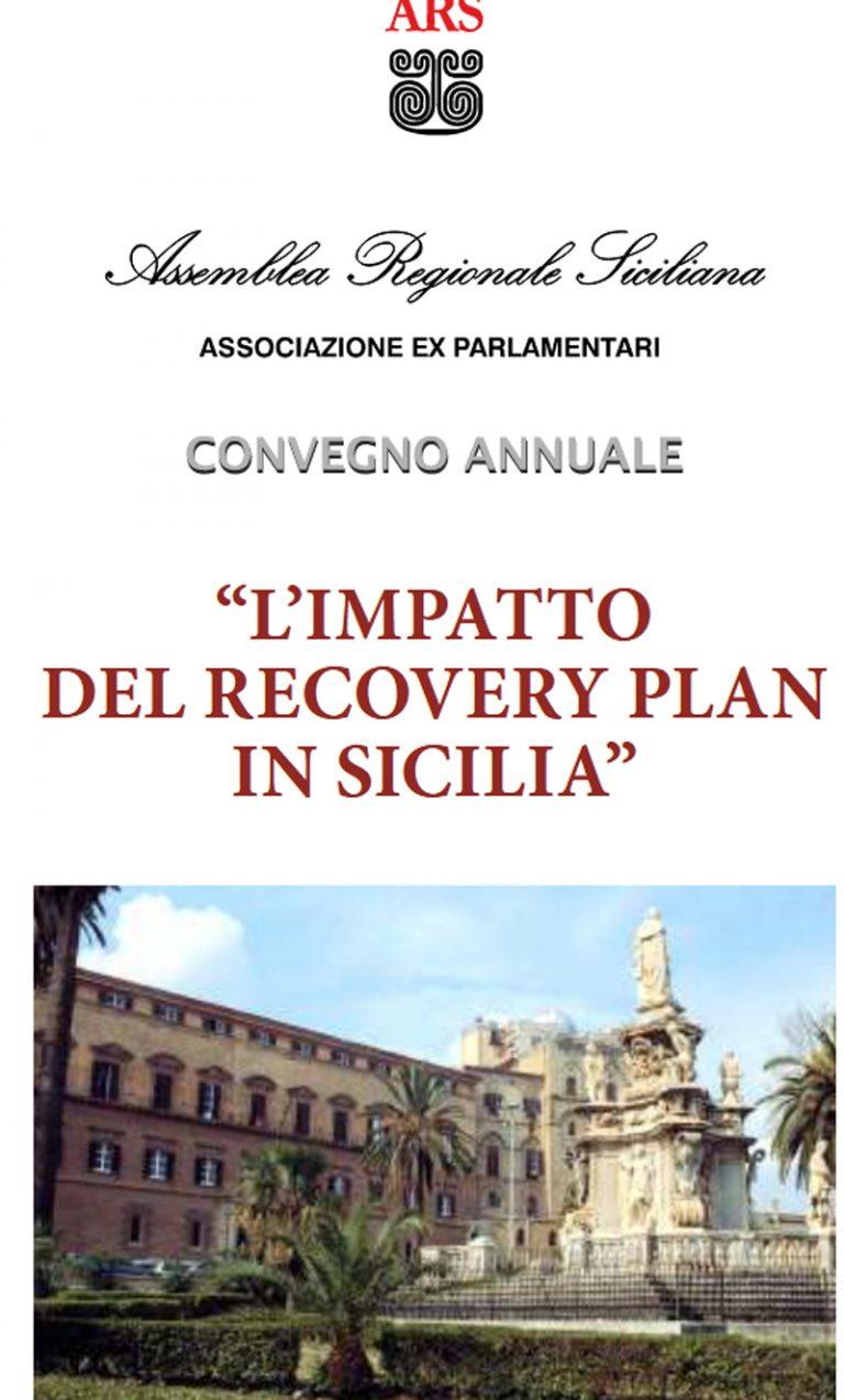 Convegno annuale dell'Associazione ex deputati Ars sull'impatto del Recovery Plan in Sicilia