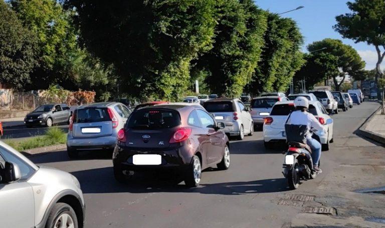 Traffico circonvallazione nel tratto della IV municipalità